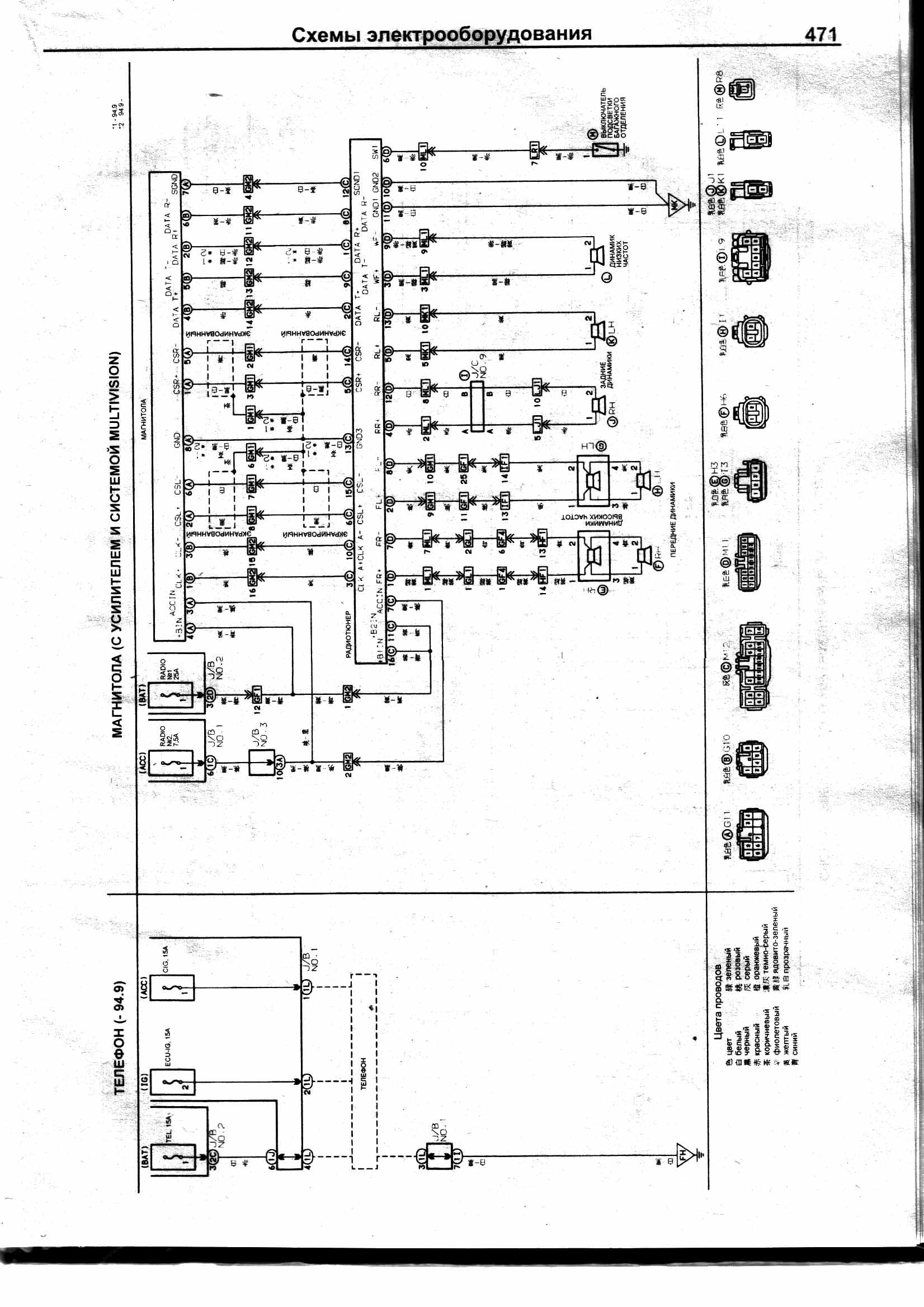 Особенности подключения магнитолы Kenwood на Toyota Crown