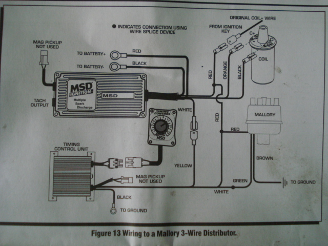 Mallory 6al Wiring Diagram Mallory Ignition Distributor Wiring