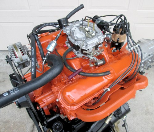 small resolution of 1971 340 cuda engine paint details moparts restoration basic small engine wiring small engine magneto wiring