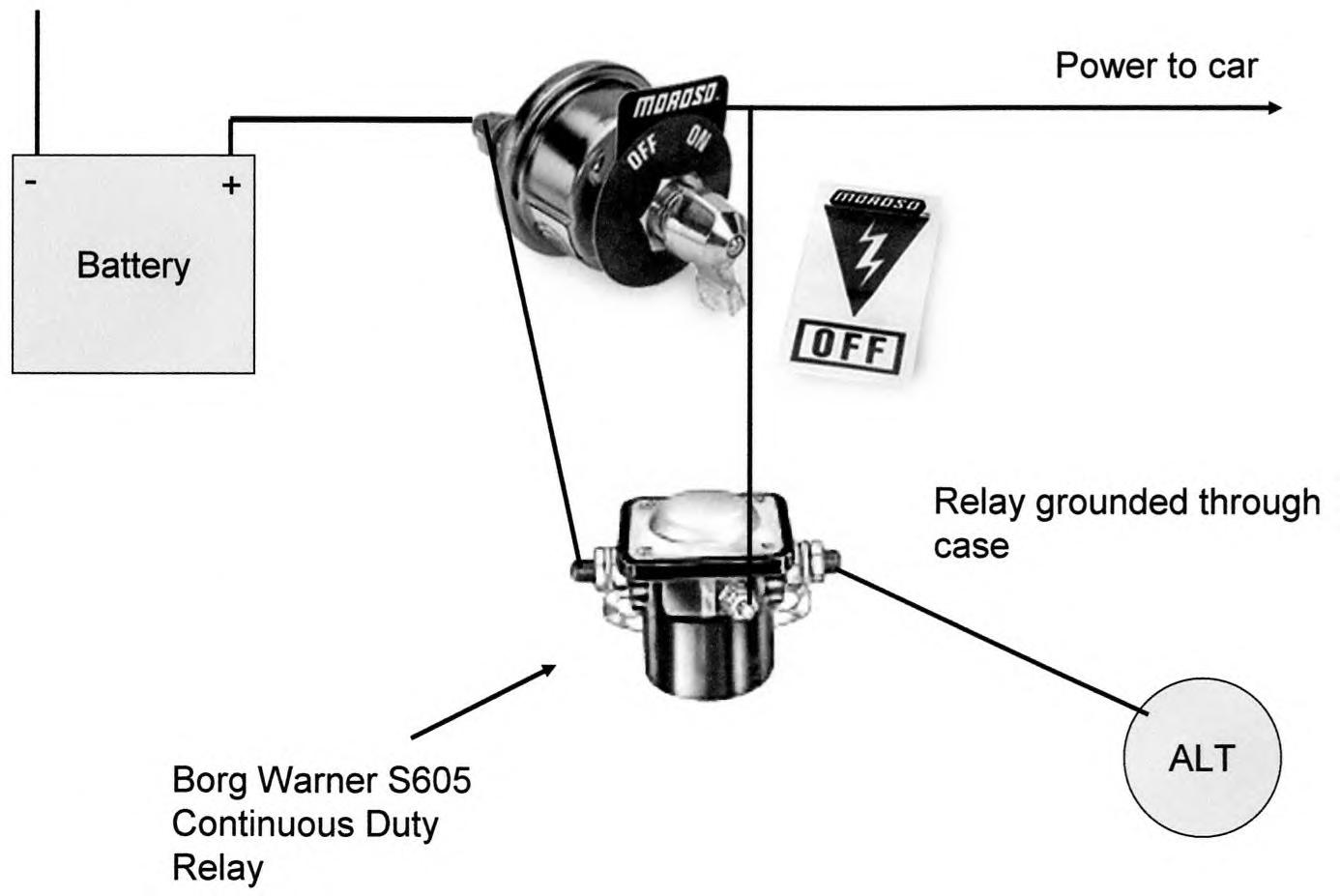 battery cut off switch wiring diagram nissan alternator correct way to wire and unlawfl 39s