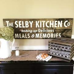 Wooden Signs For Kitchen Painting Cabinets Cost 12 Quot X 32 Buy Wood