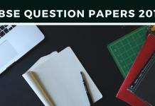 CBSE Question Papers 2019