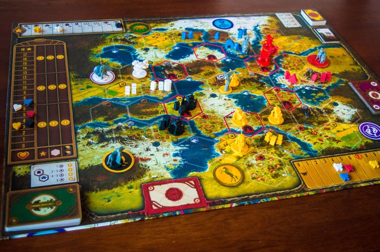 Playing Board of Scythe