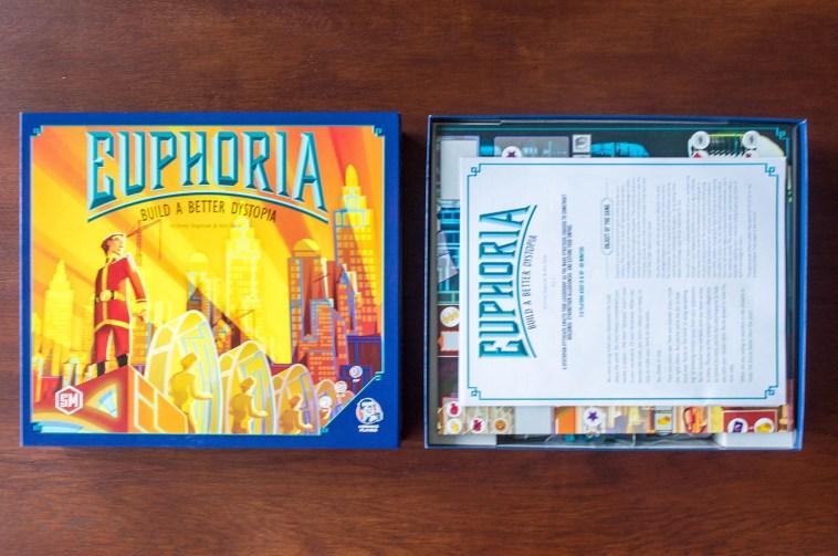 Opened box of Euphoria