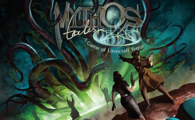 Mythos Tales Welcome To The World Of Lovecraft Boardgame Stories