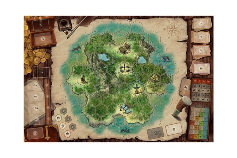 IslesOfTerror_GameBoard