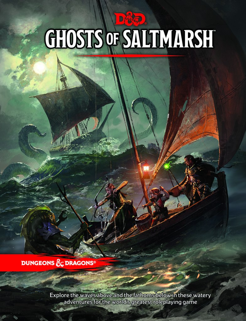 Dungeons & Dragons Ghosts of Saltmarsh Main Cover