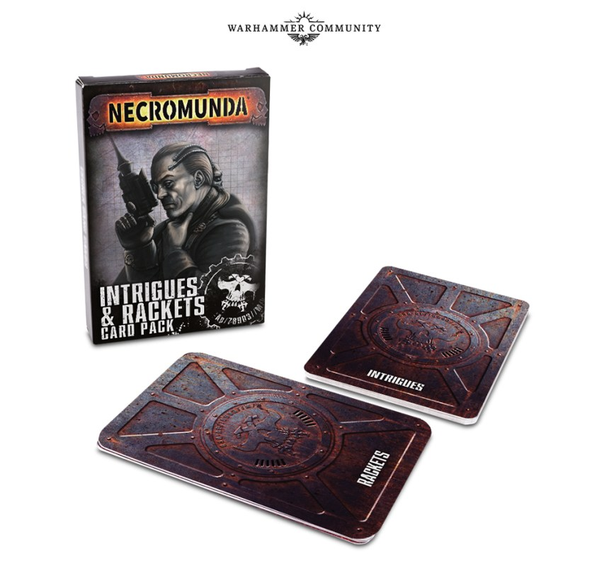 Necromunda Intrigues & Rackets Card Pack