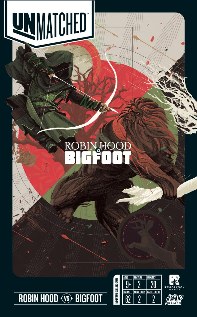 UNMATCHED: ROBIN HOOD VS. BIGFOOT