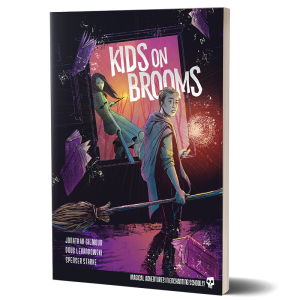 Kids on Brooms
