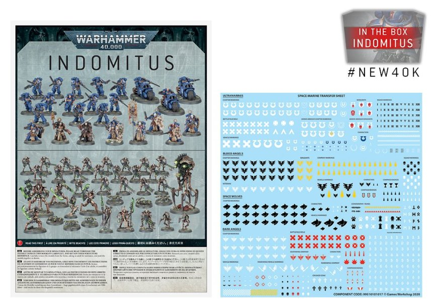 Assembly Guide and Transfers