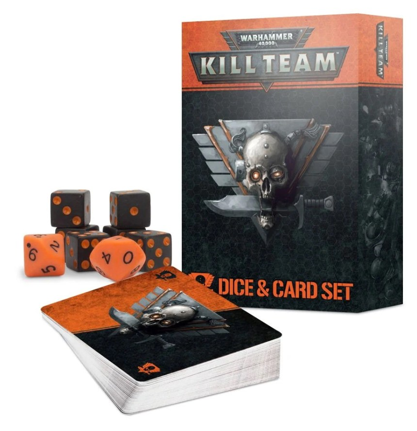 Kill Team Card and Dice Set