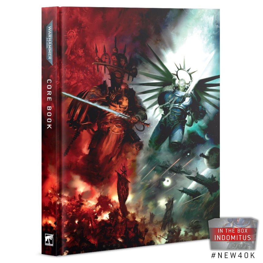 The Warhmmer 40,000 Core Book (Indomitus Edition)