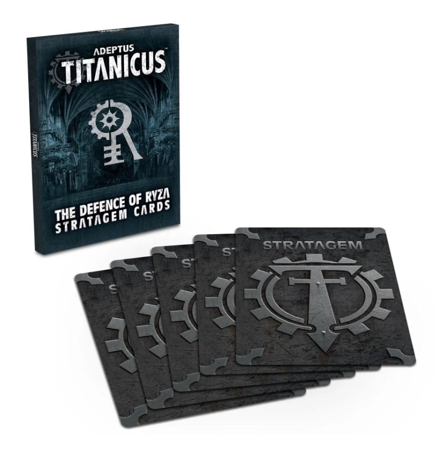 Adeptus Titanicus: The Defence of Ryza Stratagem Cards