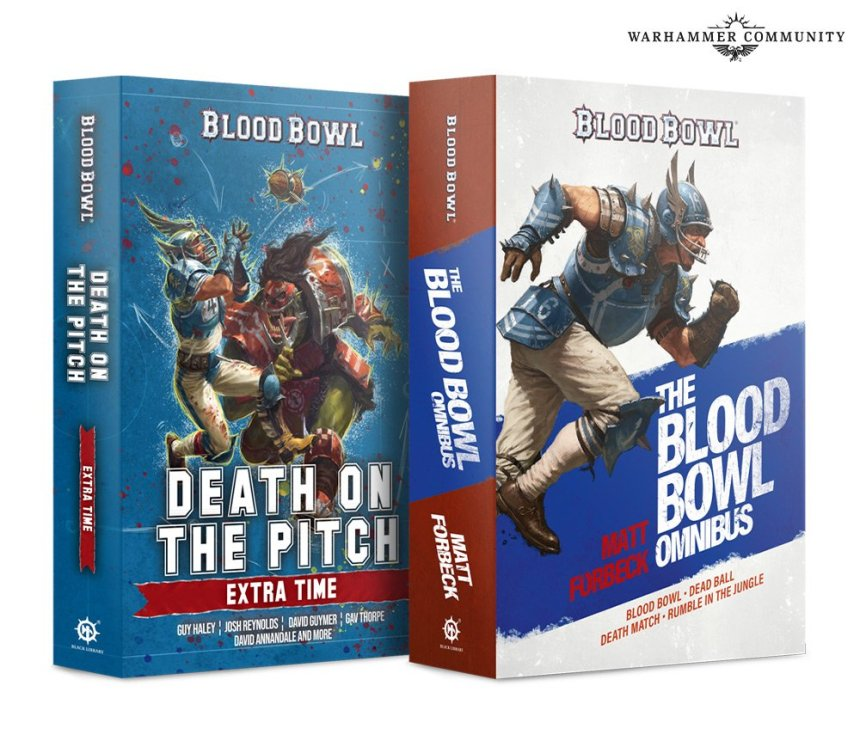 Death on the Pitch and the Blood Bowl Omnibus