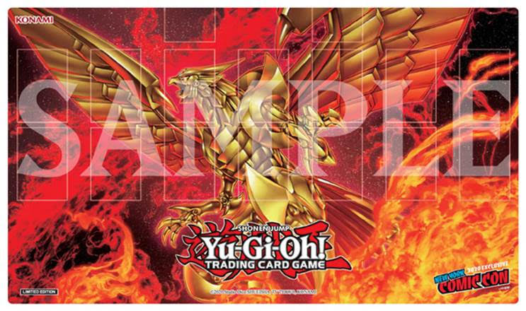 The Winged Dragon of Ra Yu-Gi-Oh! NYCC Exclusive Mat
