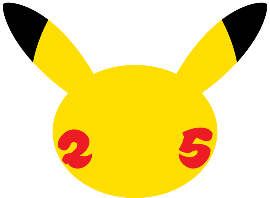 Pokemon 25th Anniversary logo