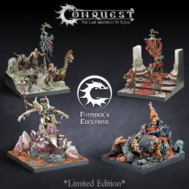 Founder's Exclusive: Retinue Dioramas