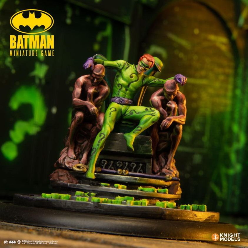 Batman Miniature Game The Riddler
