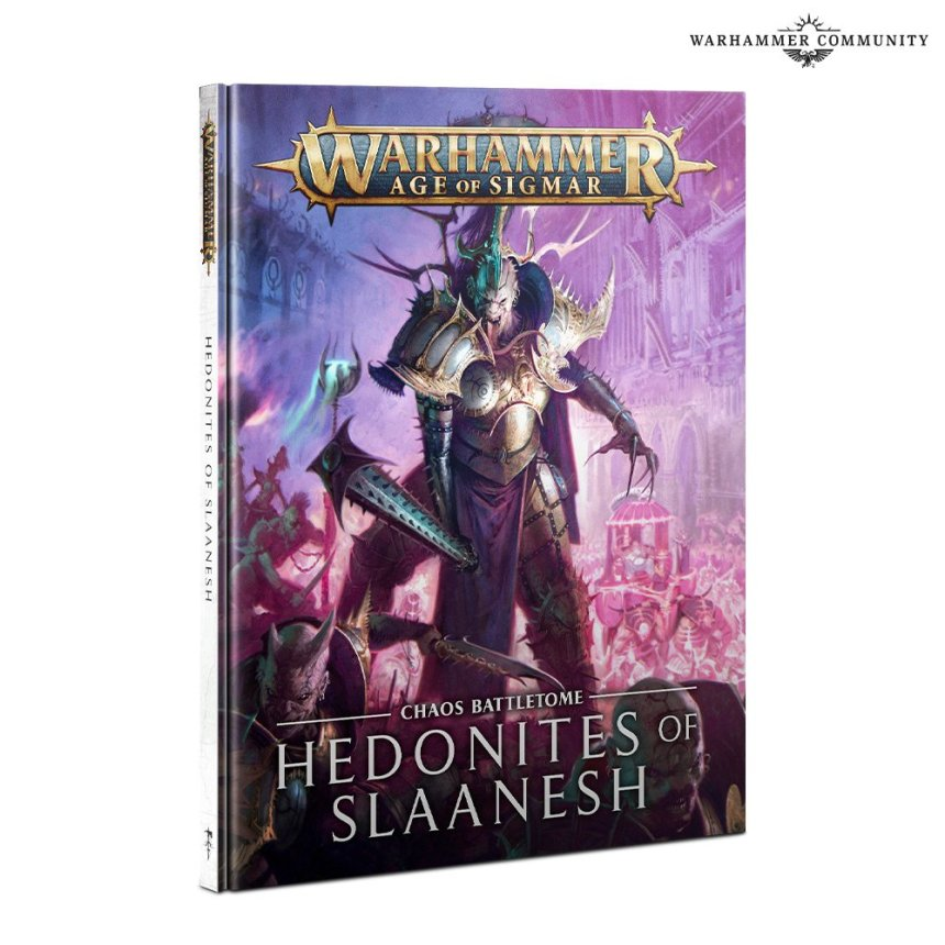 Hedonites of Slaanesh battletome