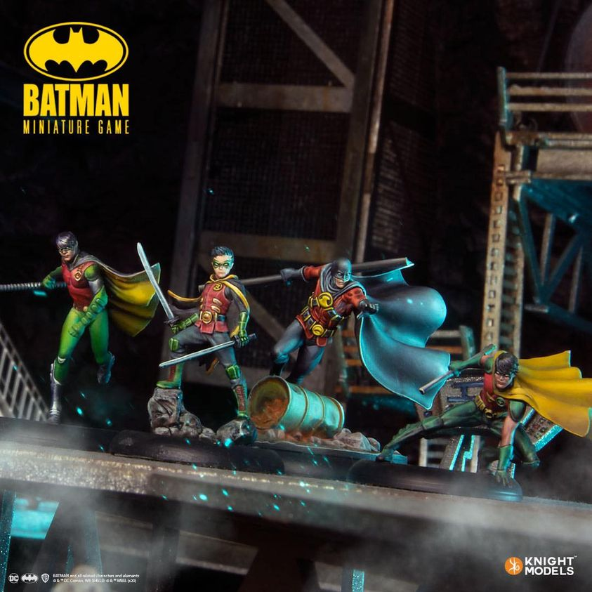 Robin Batman Miniature Game