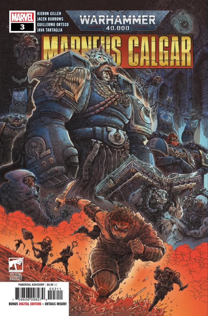 Warhammer 40K: Marneus Calgar #3