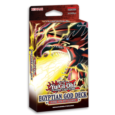 Egyptian God Deck: Slifer the Sky Dragon