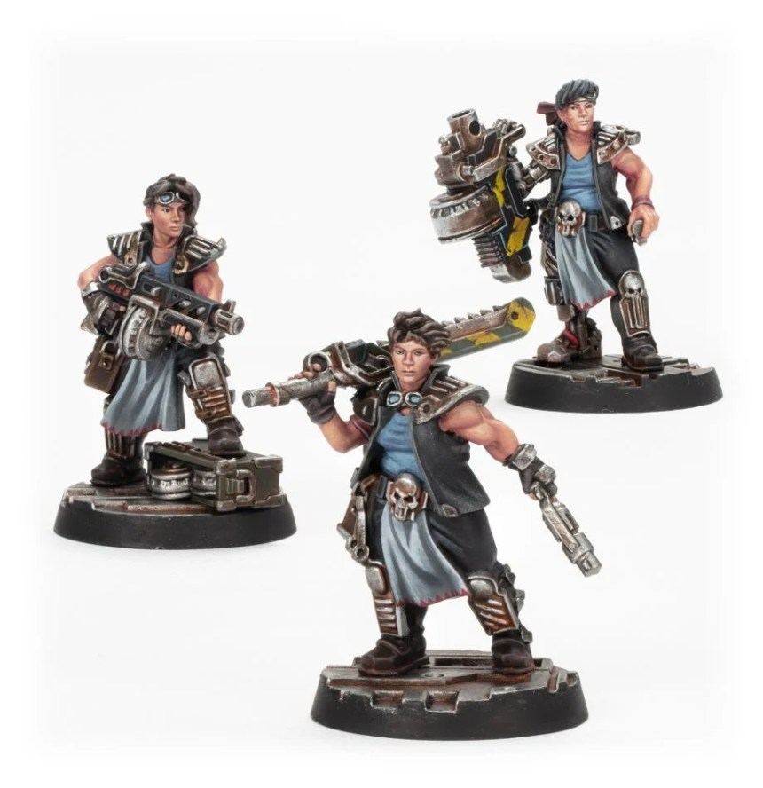 Orlock Champion and Gangers