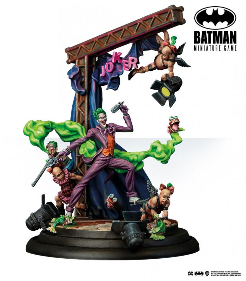 Batman Miniature Game: The Joker (Back to Gotham)