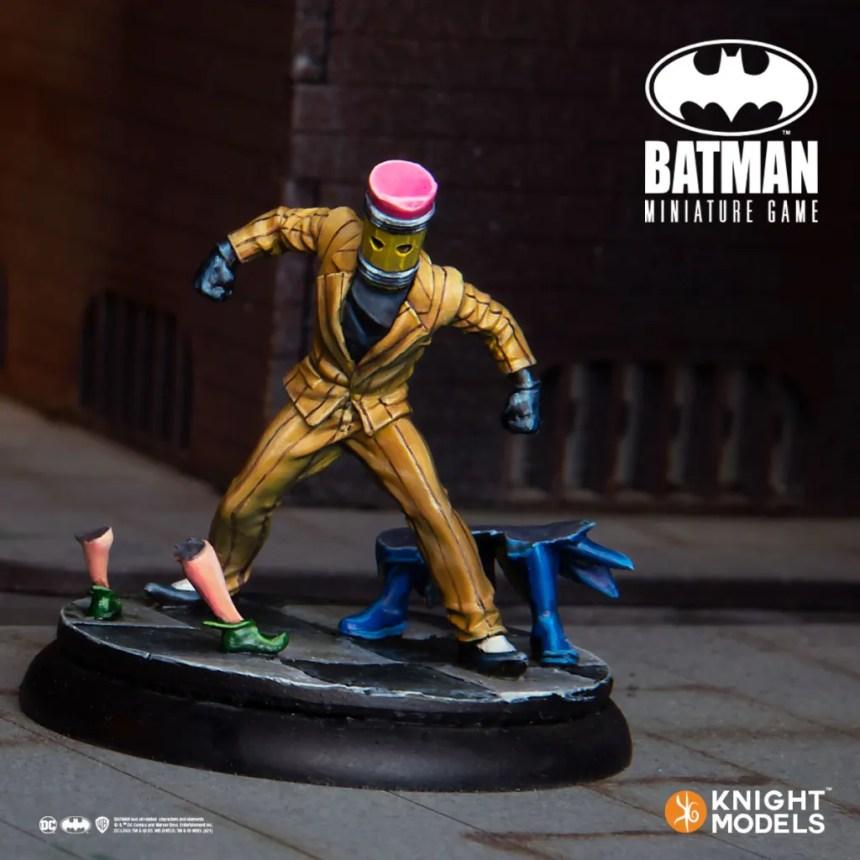 Batman Miniature Game Eraser