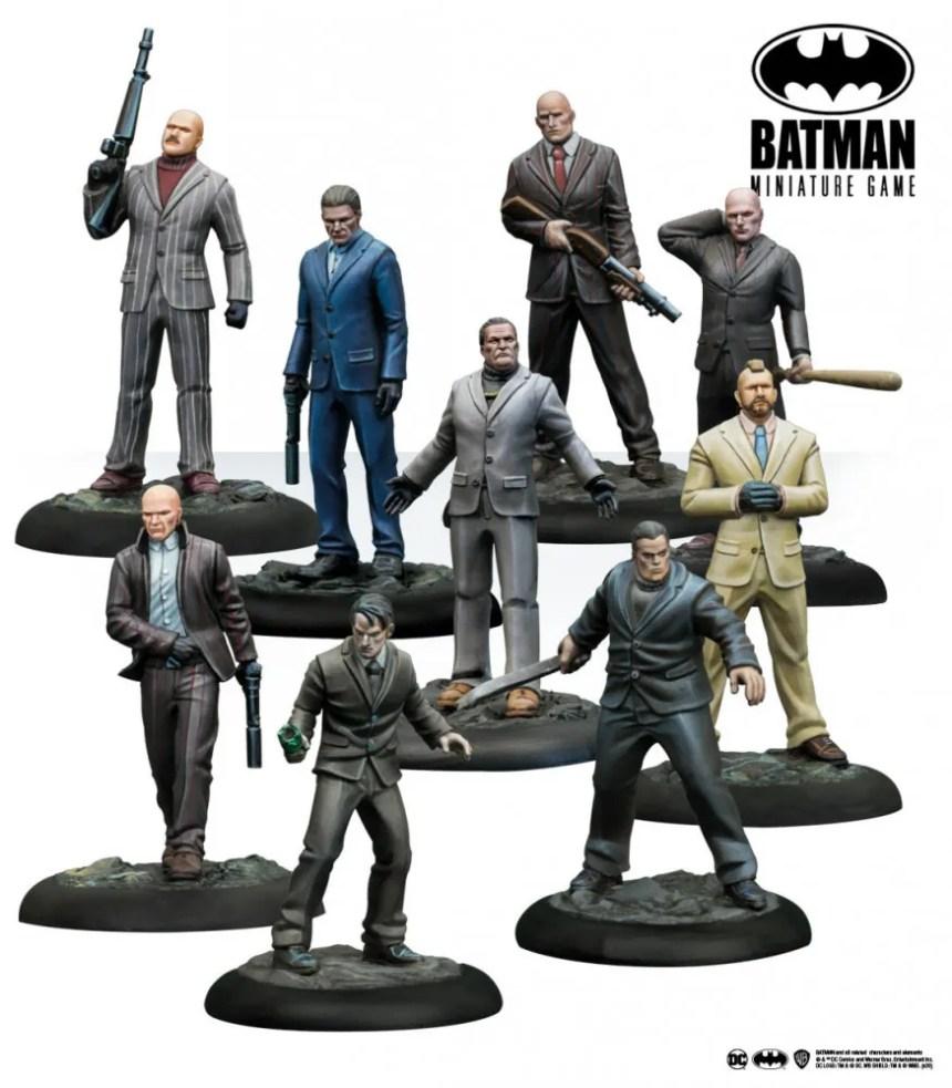 Batman Miniature Game: Organized Crime Thugs