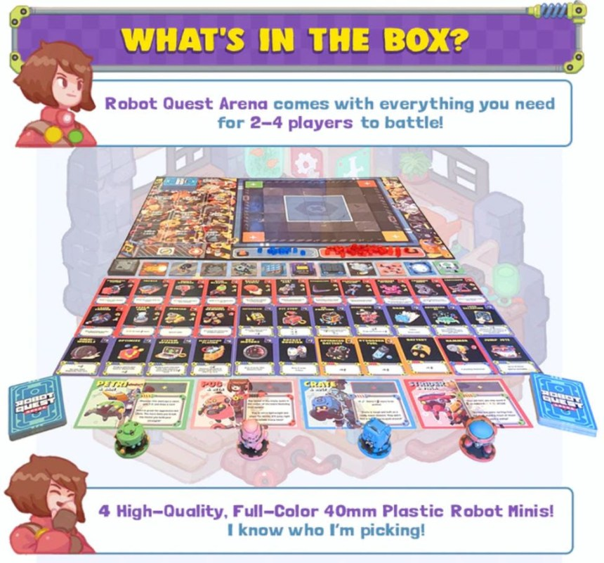 Robot Quest Arena