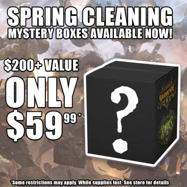 Privateer Press Spring Cleaning Mystery Box