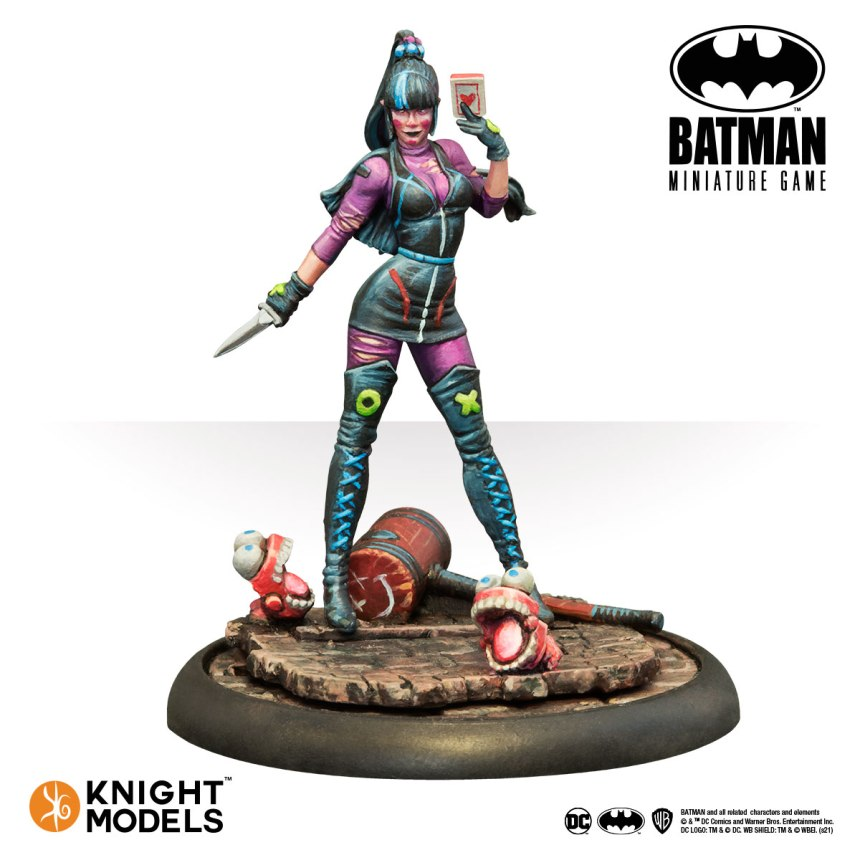 Batman Miniature Game Punchline