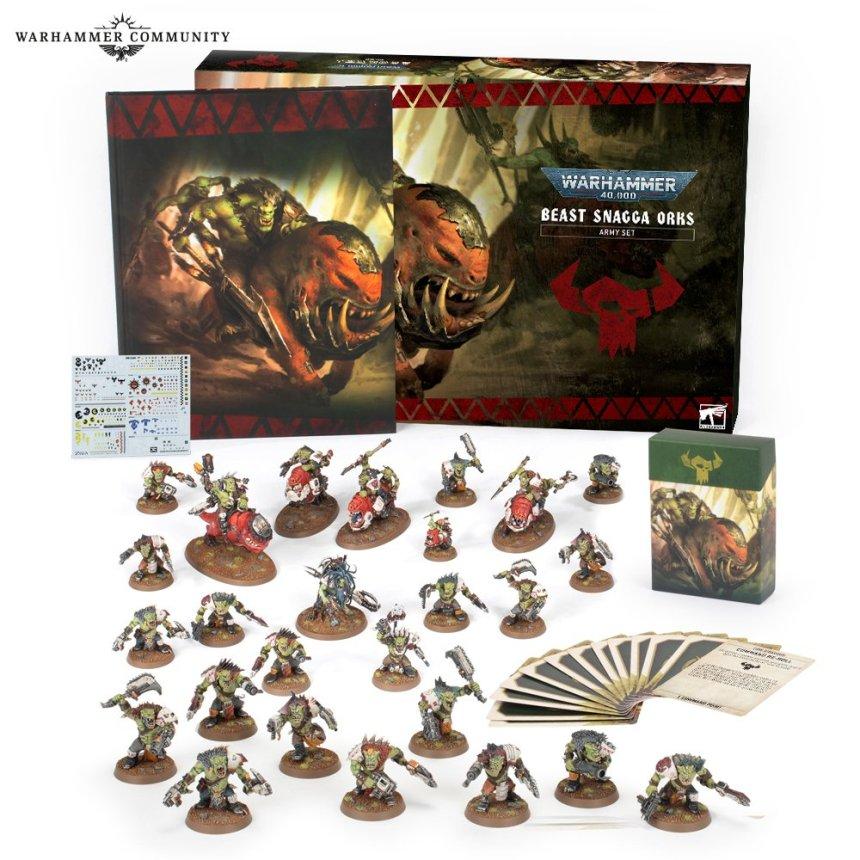 Beast Snagga Orks boxed set