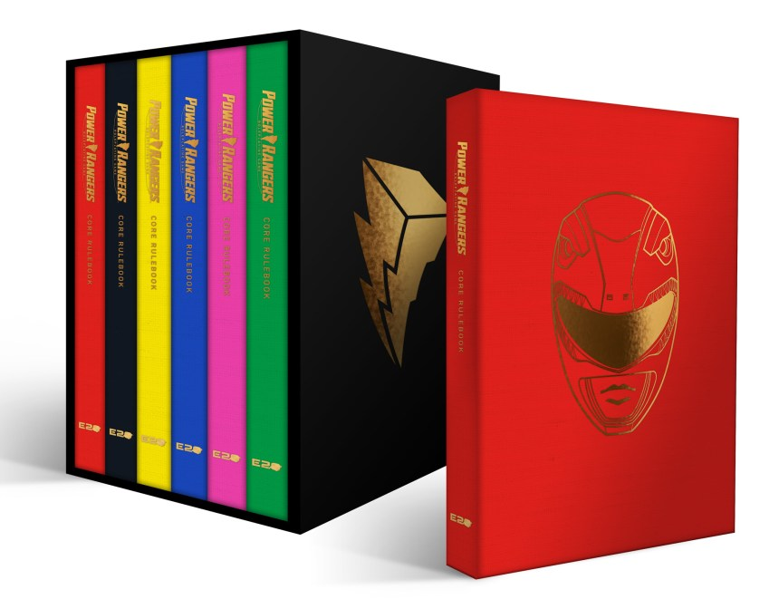 Power Rangers RPG Deluxe 6-player Core Rulebook Set