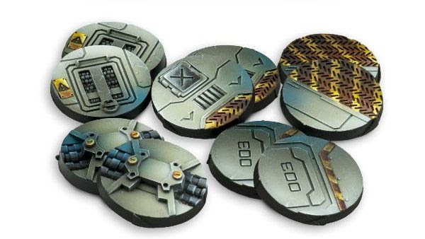 25mm Scenery Bases, Alpha Series.