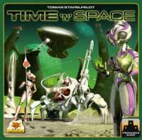 Time 'N' Space - Board Game Box Shot