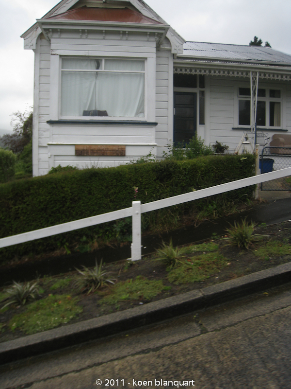 a house in baldwin street, dunedin - the steepest street in the world