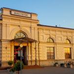 Train station in Bialystok, Poland