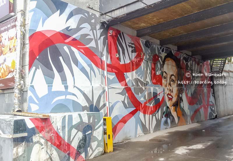 Graffiti in Yekaterinburg