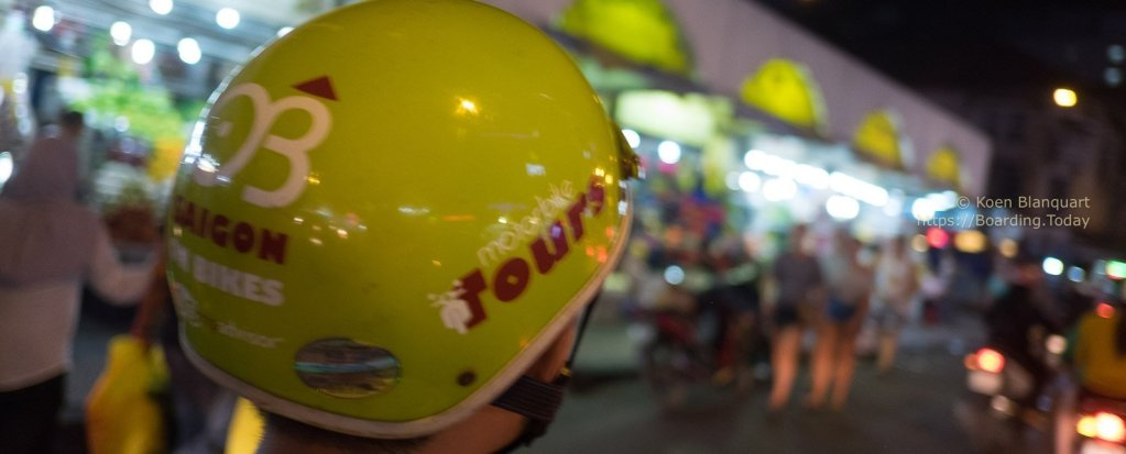 Bike & food tour in Ho Chi Ming City (Saigon)