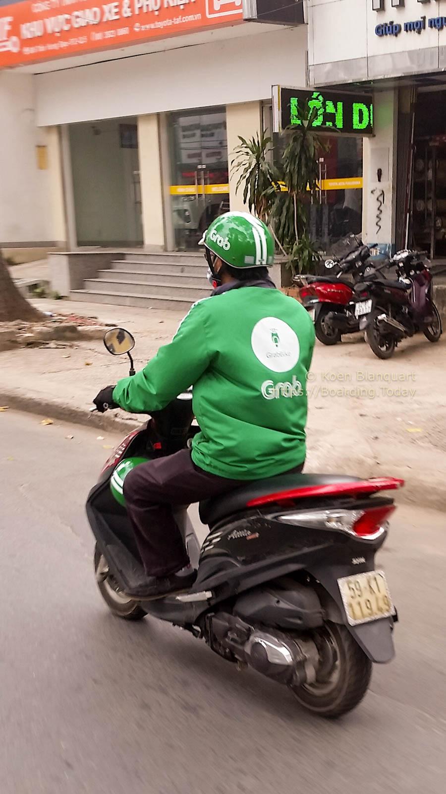 20170119-2017-01-19 14.07.41-4grab, Ho Chi Minh City, Saigon, scooter, traffic, Vietnam by Koen Blanquart for Boarding.Today.jpg