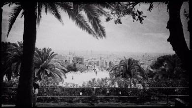 Barcelona in Schwarzweiß Reiseblog Im Schatten des Windes Boarding Completed27