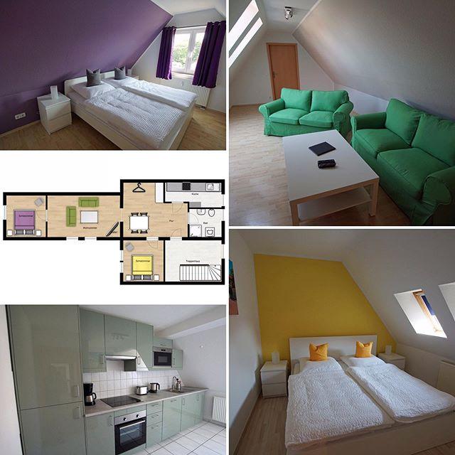 Apartment E ist fertig und steht ab sofort als Ferienwohnung zur Verfügung 😀#boardinghouseammarkt #badlauchstädt #goethestadtbadlauchstädt #geiseltalsee #saalekreis #hallesaale #lauchstädt