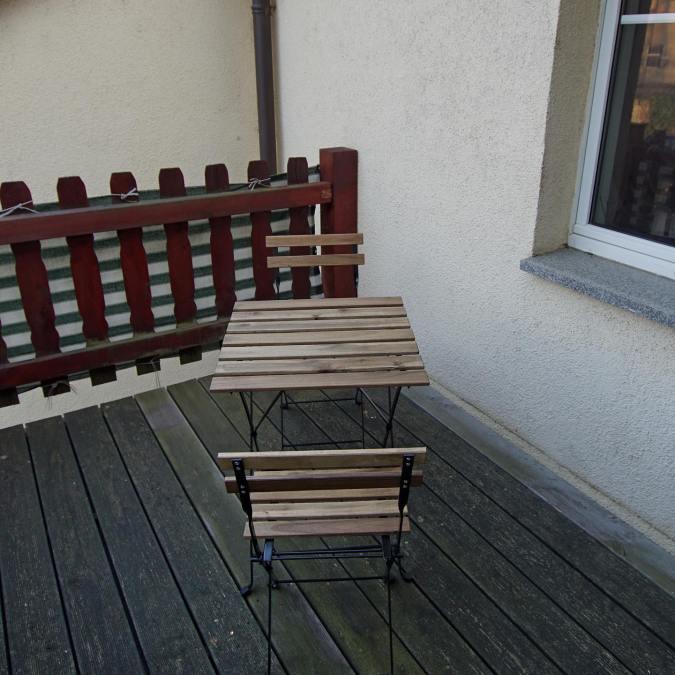 Einfach mal auf dem Balkon relaxen ️#boardinghouseammarkt #badlauchstädt #goethestadtbadlauchstädt