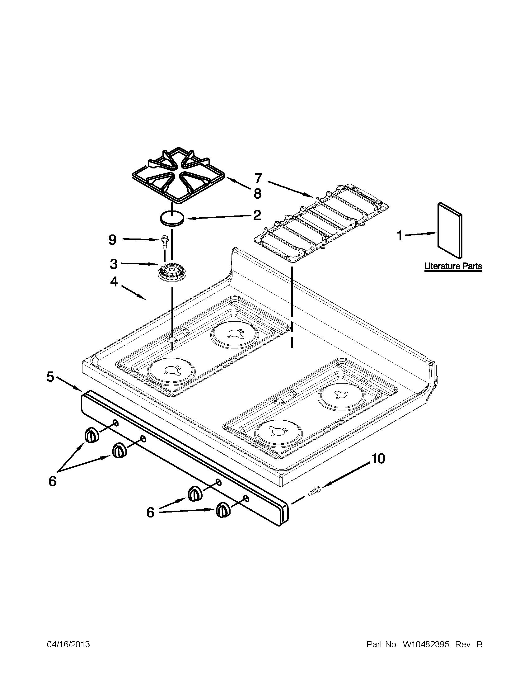 Maytag Gas Range Repair Manual