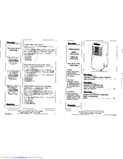 Danby Designer Air Conditioner Manual