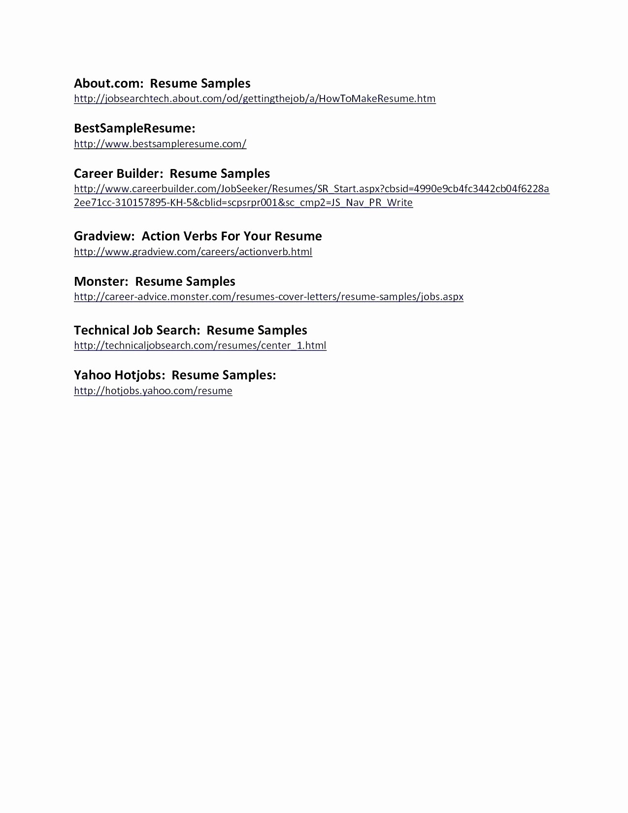 13 Actors Resume Template Word Collection
