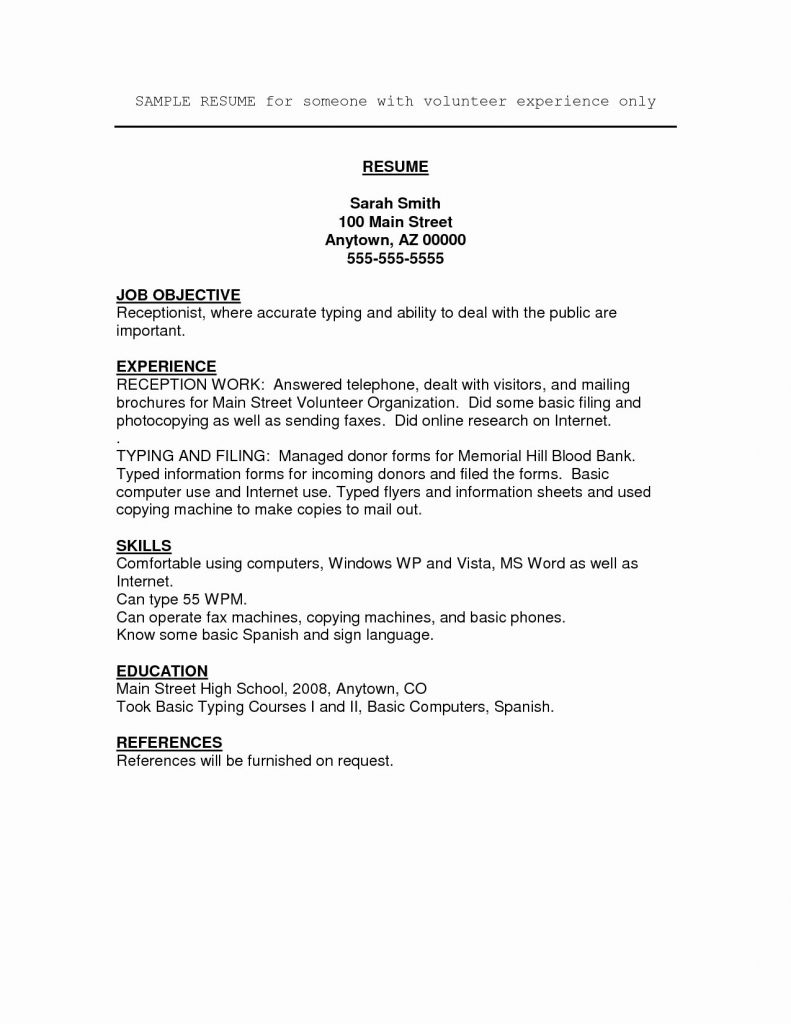 9 Information Technology Resume Template Word Collection
